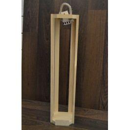 Dřevěný stojan na 1,5 l vína (v. 50 cm)