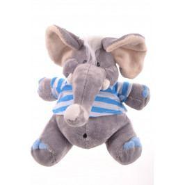 Plyšová hračka SLONÍK - šedý (20 cm)