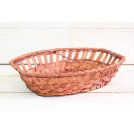 Proutěný košík (25,5x6,5x17,5 cm)