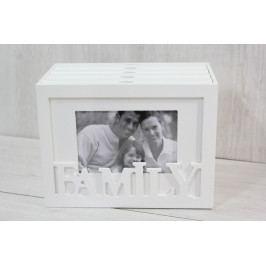 Fotoalbum FAMILY na 96 fotek - bílý (21x16x12 cm)