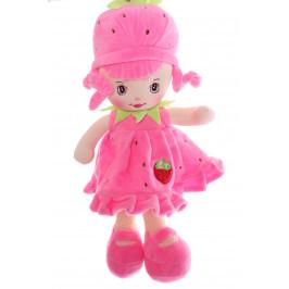 Plyšová panenka JAHŮDKA (v. 33 cm) - růžová