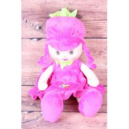 Plyšová panenka JAHŮDKA - cyklámenová (v. 40 cm)