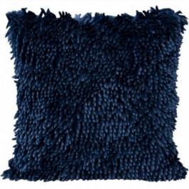 Povlak na polštář dekorační SHAGGY modrý 40x40 cm