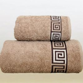 Greno ručník froté Dunaj 30x50 cm béžový