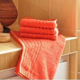 Polášek ručník bambus terakota 50x100 cm