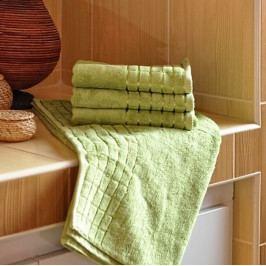 Polášek ručník bambus zelená 50x100 cm