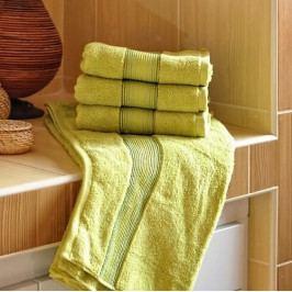 Polášek mikrofroté ručník Dita kiwi 50x100 cm