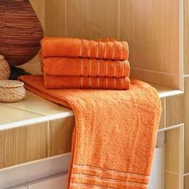 Polášek mikrofroté ručník Ema terakota 50x100 cm