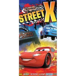 Dětská osuška Cars street X 70x140 cm