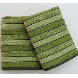 Praktik Ručník Paris zelený 50x100 cm