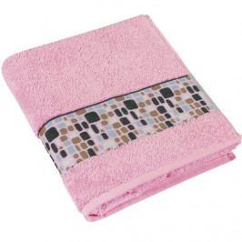 Bellatex froté ručník kameny růžový 50x100 cm
