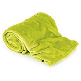 Deka mikroflanel (mikroplyš) 150x200 cm zelená