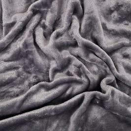 Jahu prostěradlo mikroflanel šedá 90x200 cm