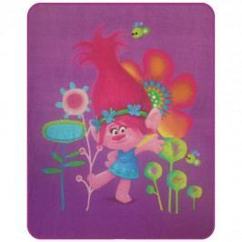 CTI dětská deka  trolls Popy 110 x 140 cm