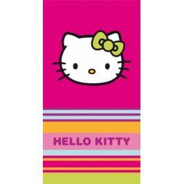 CTI osuška Hello Kitty pruhy 85 x 160 cm