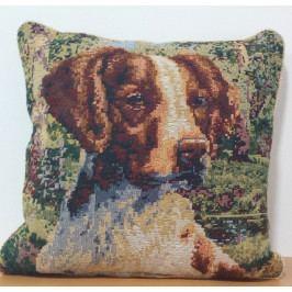 Povlak na polštář dekorační 45x45 pes