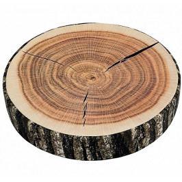 Bellatex sedák ORESTE kulatý dřevo