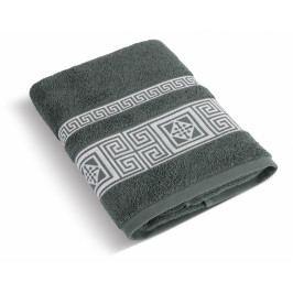 Bellatex froté ručník Řecká kolekce 50x100 cm mechový (tm.zelený)