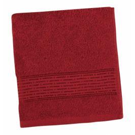 Bellatex froté ručník Proužek 50x100 cm bordový