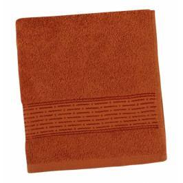 Bellatex froté ručník Proužek 50x100 cm terra