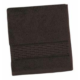 Bellatex froté ručník Proužek 50x100 cm tmavě hnědý
