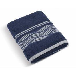 Bellatex froté ručník Vlnka 50x100 cm modrý