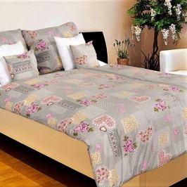 Povlečení bavlna č.53 Romance 140x200+70x90 cm