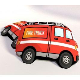 Dětský polštářek 3D auto Hasiči