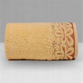 Greno ručník froté Bella 50x90 cm meruňkový