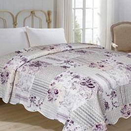 Jahu přehoz na postel 220x240 cm Kytka