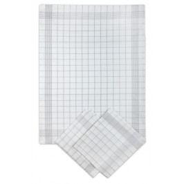 Svitap Utěrka Negativ Egyptská bavlna bílá šedá 50x70 cm balení 3 ks