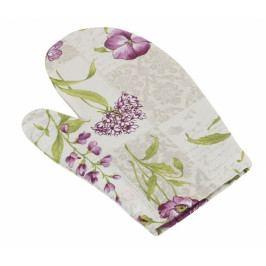 Bellatex kuchyňská chňapka fialové květy