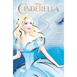 Detexpol dětský froté ručník  Cinderella 40x60 cm