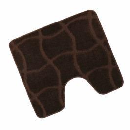 Bellatex koupelnová předložka STANDARD hnědá čokoláda wc 60x50 cm