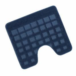 Bellatex koupelnová předložka STANDARD modrá dlaždice wc 60x50 cm
