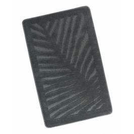Bellatex koupelnová předložka STANDARD šedý list 60x100 cm