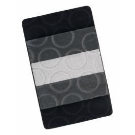 Bellatex koupelnová předložka AVANGARD šedé kroužky 60x100 cm