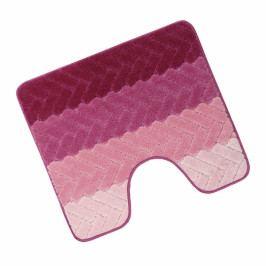 Bellatex koupelnová předložka ELLI Artes růžová wc 60x50 cm