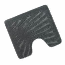 Bellatex koupelnová předložka STANDARD šedý list wc 60x50 cm
