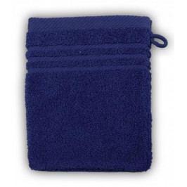 Greno froté žínka 16x21 cm tm. modrá