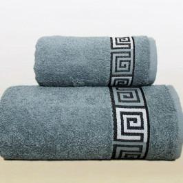 Greno ručník froté Dunaj 50x90 cm šedý