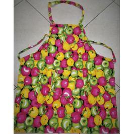 Kuchyňská zástěra 50x60 cm ovoce