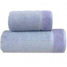 Greno ručník bambus Soft 50x90 cm šedo fialový