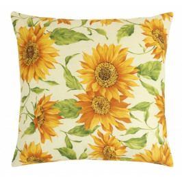 Bellatex polštářek Gita 45x45 cm květ slunečnice