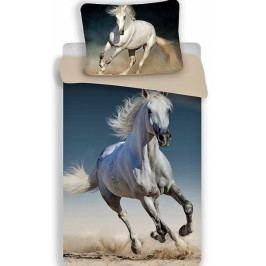 Jerry Fabrics povlečení bavlna fototisk Kůň 03 140x200+70x90 cm