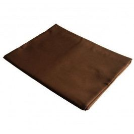 Dadka prostěradlo bavlněná plachta tmavě hnědá  - 140x240 cm