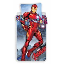 Jerry Fabrics povlečení bavlna Iron-man 140x200+70x90 cm