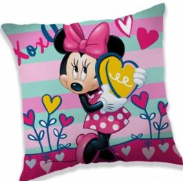 Jerry Fabrics polštářek Minnie XOXO 40x40 cm