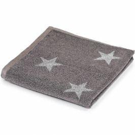 Jahu ručník froté Stars šedý 50x100 cm