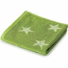 Jahu ručník froté Stars zelený 50x100 cm